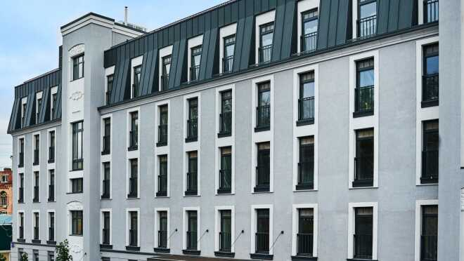 ЖК Moss Apartments Комплекс апартаментов